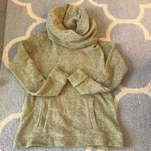 🎉SALE J.Crew cowl neck hoodie size small